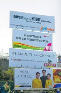 Ambush marketing examples-kingfisher vs go air