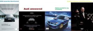 Car ambush marketing examples