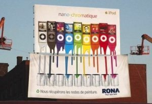 Rona paints catches Apple Offguard