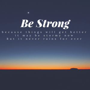 Be Strong (1)