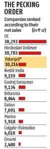 Patanjali Revenue 2016-17