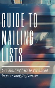 Guide to Mailing Lists