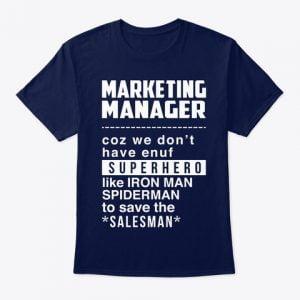 Marketing Manager T-shirts